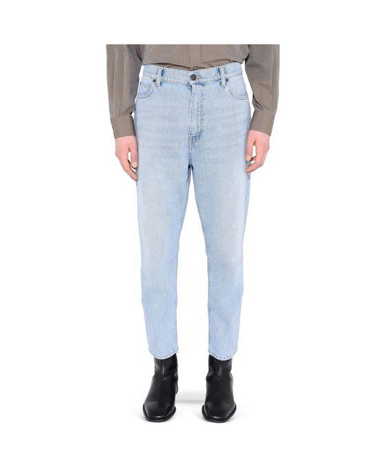 STELLA McCARTNEY MEN Bleached Denzel Carrot Jeans Men Tapered U i