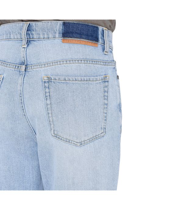 STELLA McCARTNEY MEN Bleached Denzel Carrot Jeans Men Tapered U p