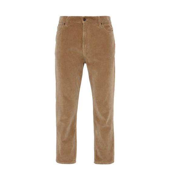 Camel Velvet Denzel Carrot Jeans