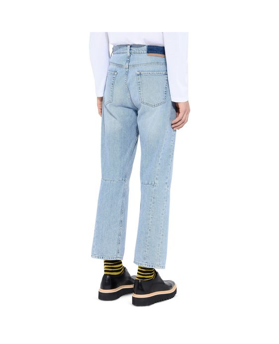 STELLA McCARTNEY MEN Pete Denim Pants    Men Tapered U g