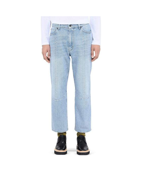 STELLA McCARTNEY MEN Pete Denim Pants    Men Tapered U i