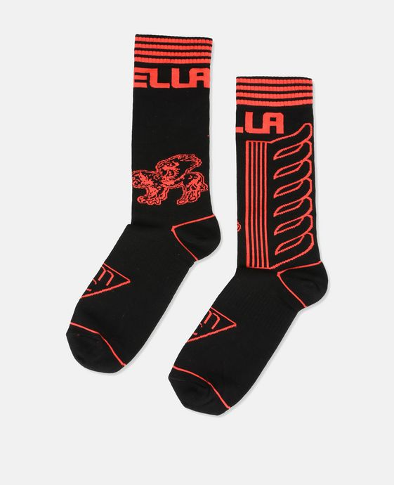 Stella Red Logo Socks
