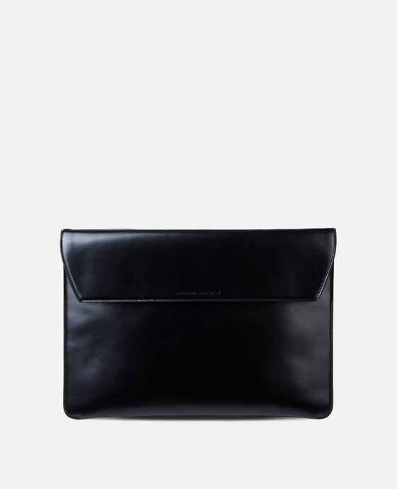 Black Alter Nappa Envelope Briefcase