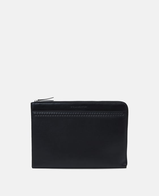 Black Alter Nappa Laptop Case