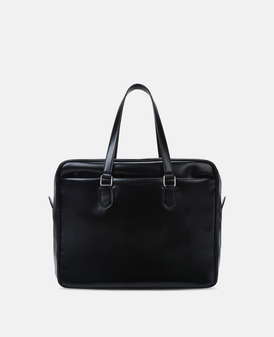 Black Alter Nappa Business Briefcase