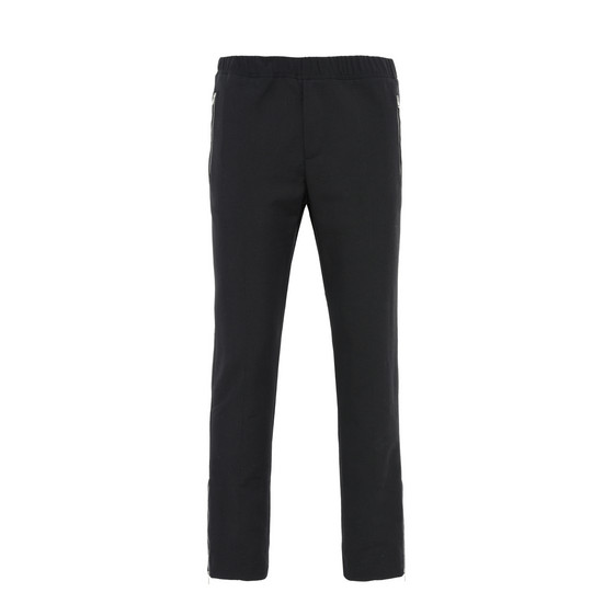 Black Slim-Fit Piet Trousers