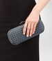 BOTTEGA VENETA STRETCH KNOT IN KRIM INTRECCIO IMPERO, AYERS DETAILS Clutch Woman ap