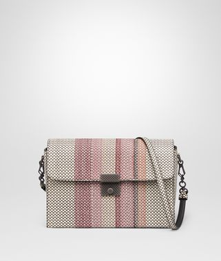 MESSENGER BAG IN MIST DESERT ROSE KARUNG