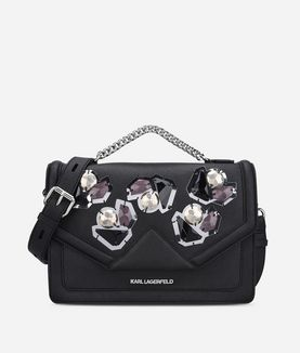 KARL LAGERFELD K/KLASSIK DIAMONDS SHOULDERBAG