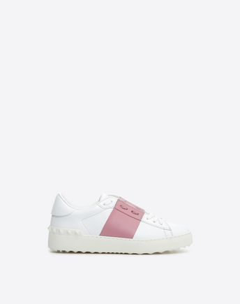 VALENTINO GARAVANI HIGH-TOP SNEAKER D Embroidered high-top Sneaker with cut-out detail f