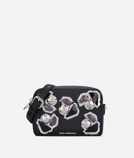 KARL LAGERFELD K/KLASSIK DIAMONDS CAMERA BAG