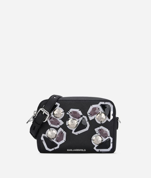 KARL LAGERFELD K/Klassik Diamonds Camera Bag 12_f