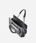 KARL LAGERFELD K/Kuilted mini tote bag mixte  8_e