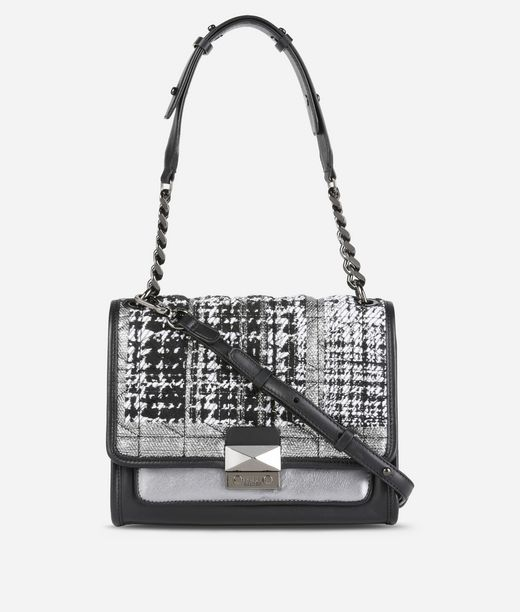 KARL LAGERFELD K/Kuilted Tweed Handbag 12_f