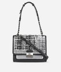 KARL LAGERFELD K/Kuilted Tweed Handbag 8_f