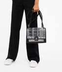 KARL LAGERFELD K/Kuilted Tweed Handbag 8_r