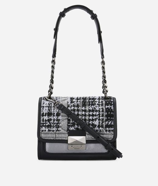 KARL LAGERFELD K/Kuilted Tweed Mini Handbag 12_f
