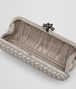 BOTTEGA VENETA STRETCH KNOT IN CEMENT INTRECCIO FAILLE MOIRE Clutch D dp