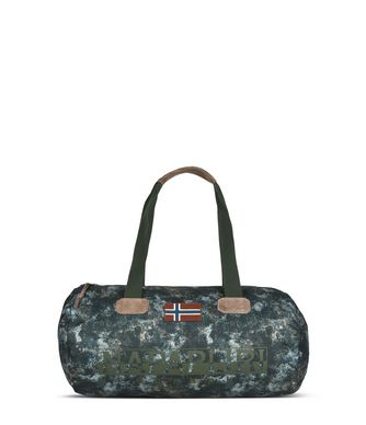 NAPAPIJRI BERING SMALL EXCLUSIVE  TRAVEL BAG,DARK GREEN