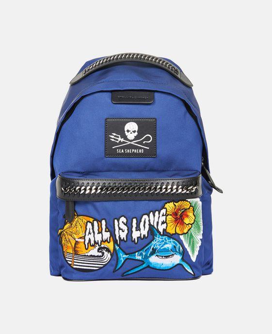 STELLA McCARTNEY Stella McCartney x Parley Falabella GO Backpack Backpacks D c