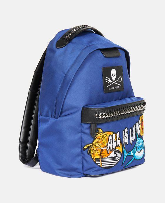 STELLA McCARTNEY Stella McCartney x Parley Falabella GO Backpack Backpacks D h