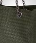 BOTTEGA VENETA LARGE TOTE BAG IN MOSS INTRECCIATO NAPPA Top Handle Bag D ep