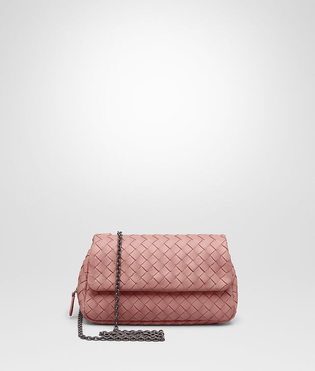 BOTTEGA VENETA MESSENGER BAG IN BOUDOIR INTRECCIATO NAPPA Crossbody bag Woman fp