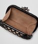 BOTTEGA VENETA KNOT CLUTCH IN NERO NEW LIGHT GREY FUME' AYERS Clutch Woman dp