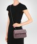 BOTTEGA VENETA BABY OLIMPIA BAG IN GLICINE EMBROIDERED VELVET, AYERS DETAILS Shoulder or hobo bag D ap