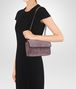 BOTTEGA VENETA BABY OLIMPIA BAG IN NERO EMBROIDERED VELVET, AYERS DETAILS Shoulder Bag Woman lp