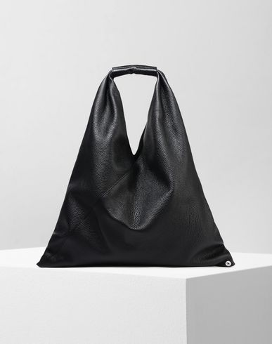 BAGS Japanese calfskin medium bag Black