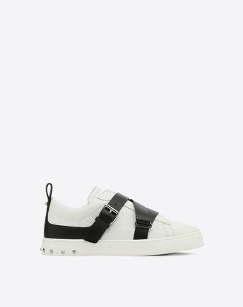 VALENTINO GARAVANI LOW-TOP SNEAKERS D 低帮运动鞋搭配刺绣 f