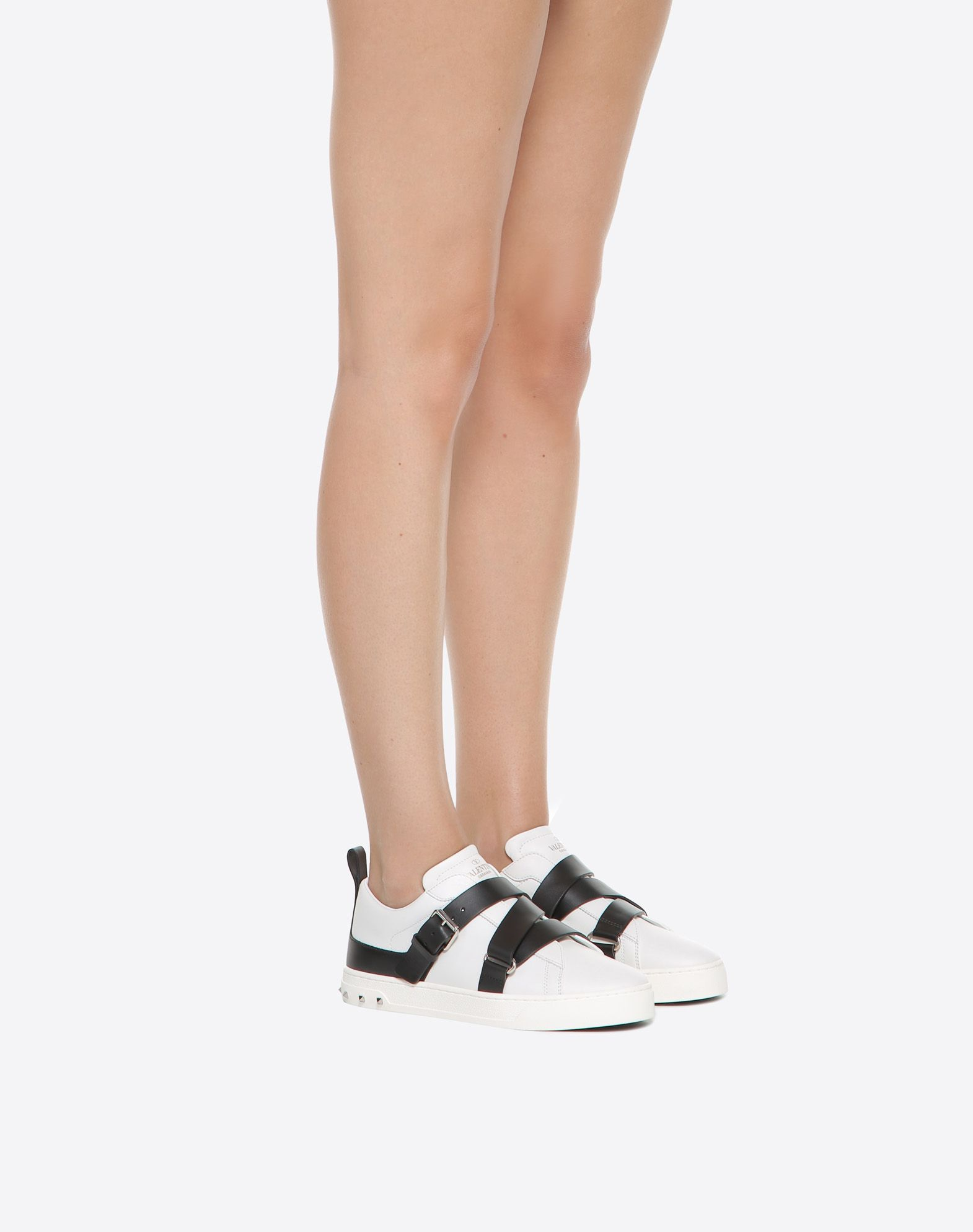 Buy Cheap Huge Surprise Brand New Unisex Cheap Price White and Black Valentino Garavani V Punk Sneakers Valentino Sale New Styles Sale Fake kQoPC4W