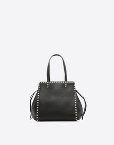 VALENTINO GARAVANI HANDBAG D Rockstud Double Handle Bag f