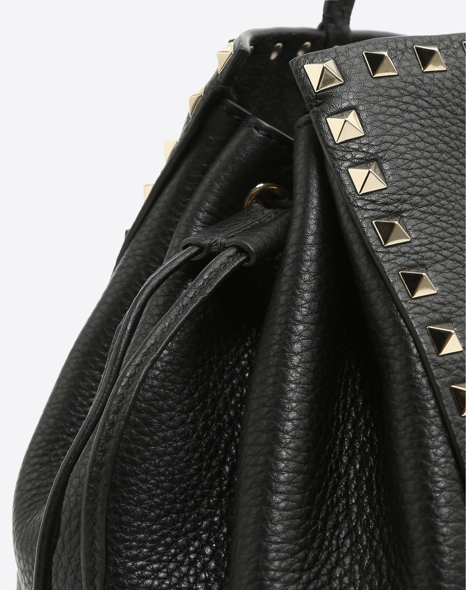 VALENTINO GARAVANI Rockstud Double Handle Bag HANDBAG D b