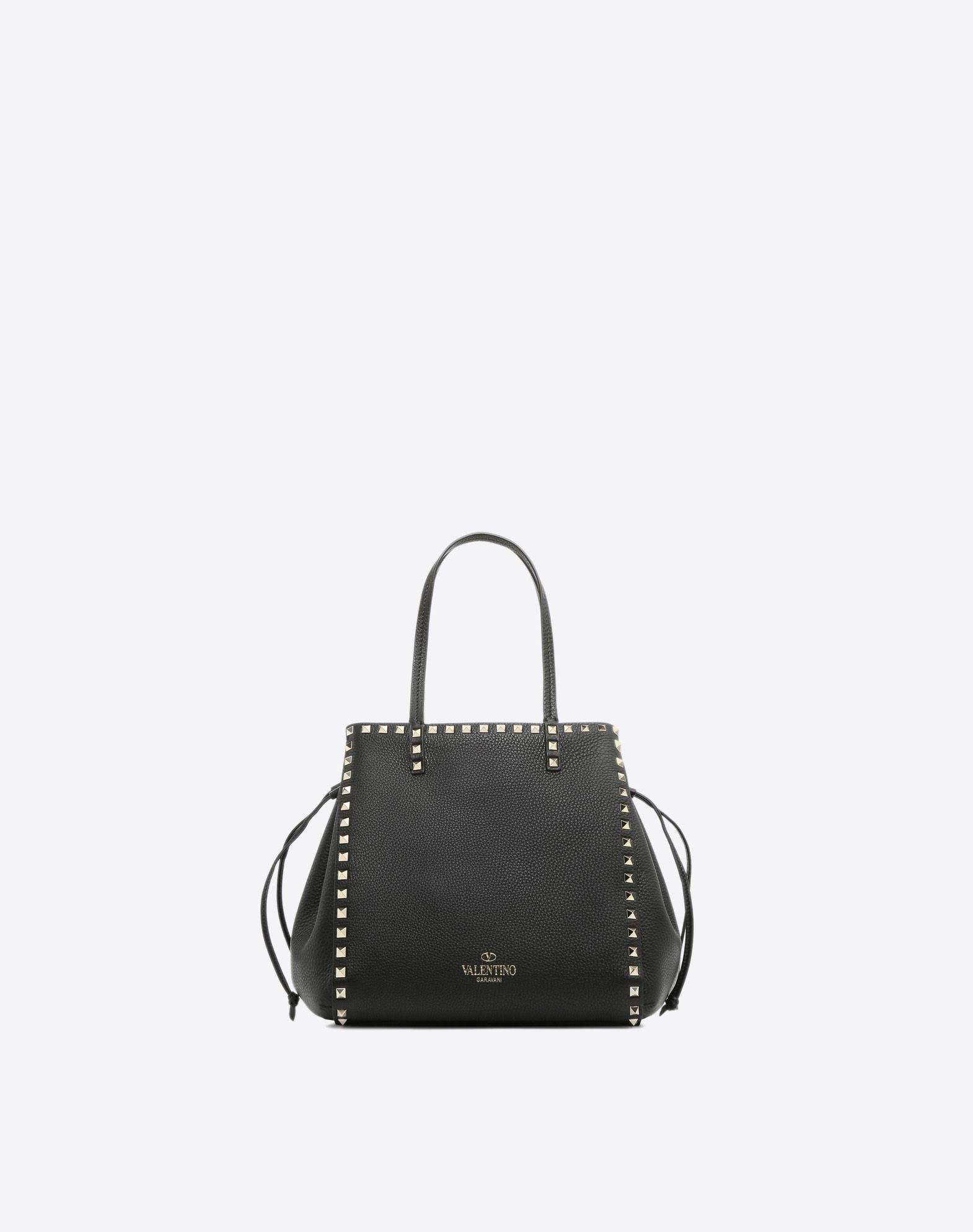 VALENTINO GARAVANI Rockstud Double Handle Bag HANDBAG D d