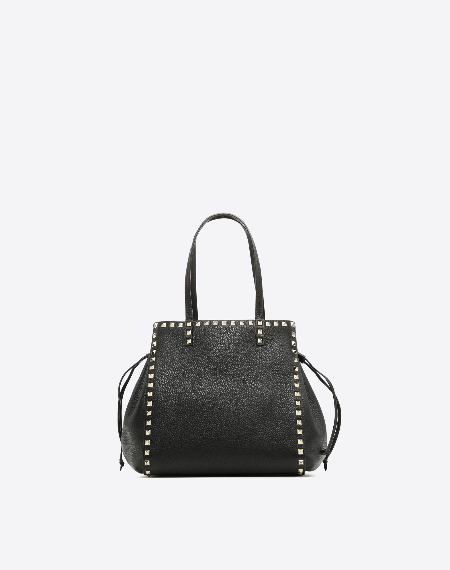 VALENTINO GARAVANI Rockstud Double Handle Bag HANDBAG D f