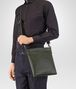 BOTTEGA VENETA SMALL MESSENGER BAG IN MOSS INTRECCIATO VN Messenger Bag U ap