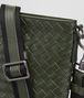 BOTTEGA VENETA SMALL MESSENGER BAG IN MOSS INTRECCIATO VN Messenger Bag U ep