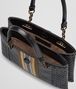 BOTTEGA VENETA MINI TOTE BAG IN NERO GOAT, METAL DETAILS Tote Bag Woman dp