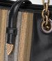 BOTTEGA VENETA MINI TOTE BAG IN NERO GOAT, METAL DETAILS Tote Bag Woman ep