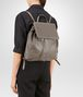 BOTTEGA VENETA BACKPACK IN STEEL NAPPA LEATHER, INTRECCIATO DETAILS Crossbody bag D ap
