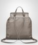 BOTTEGA VENETA BACKPACK IN STEEL NAPPA LEATHER, INTRECCIATO DETAILS Crossbody bag D lp