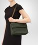 BOTTEGA VENETA MEDIUM OLIMPIA BAG IN MOSS INTRECCIATO NAPPA LEATHER Shoulder or hobo bag D lp