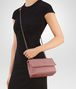 BOTTEGA VENETA BABY OLIMPIA BAG IN BOUDOIR INTRECCIATO NAPPA Shoulder or hobo bag D ap