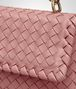 BOTTEGA VENETA BABY OLIMPIA BAG IN BOUDOIR INTRECCIATO NAPPA LEATHER Shoulder or hobo bag Woman ep