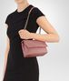 BOTTEGA VENETA BABY OLIMPIA BAG IN BOUDOIR INTRECCIATO NAPPA LEATHER Shoulder or hobo bag Woman lp