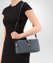 BOTTEGA VENETA MEDIUM CLUTCH BAG IN KRIM INTRECCIATO NAPPA Crossbody bag D lp
