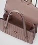 BOTTEGA VENETA MEZZALUNA BAG IN DESERT ROSE INTRECCIATO NAPPA Top Handle Bag D dp