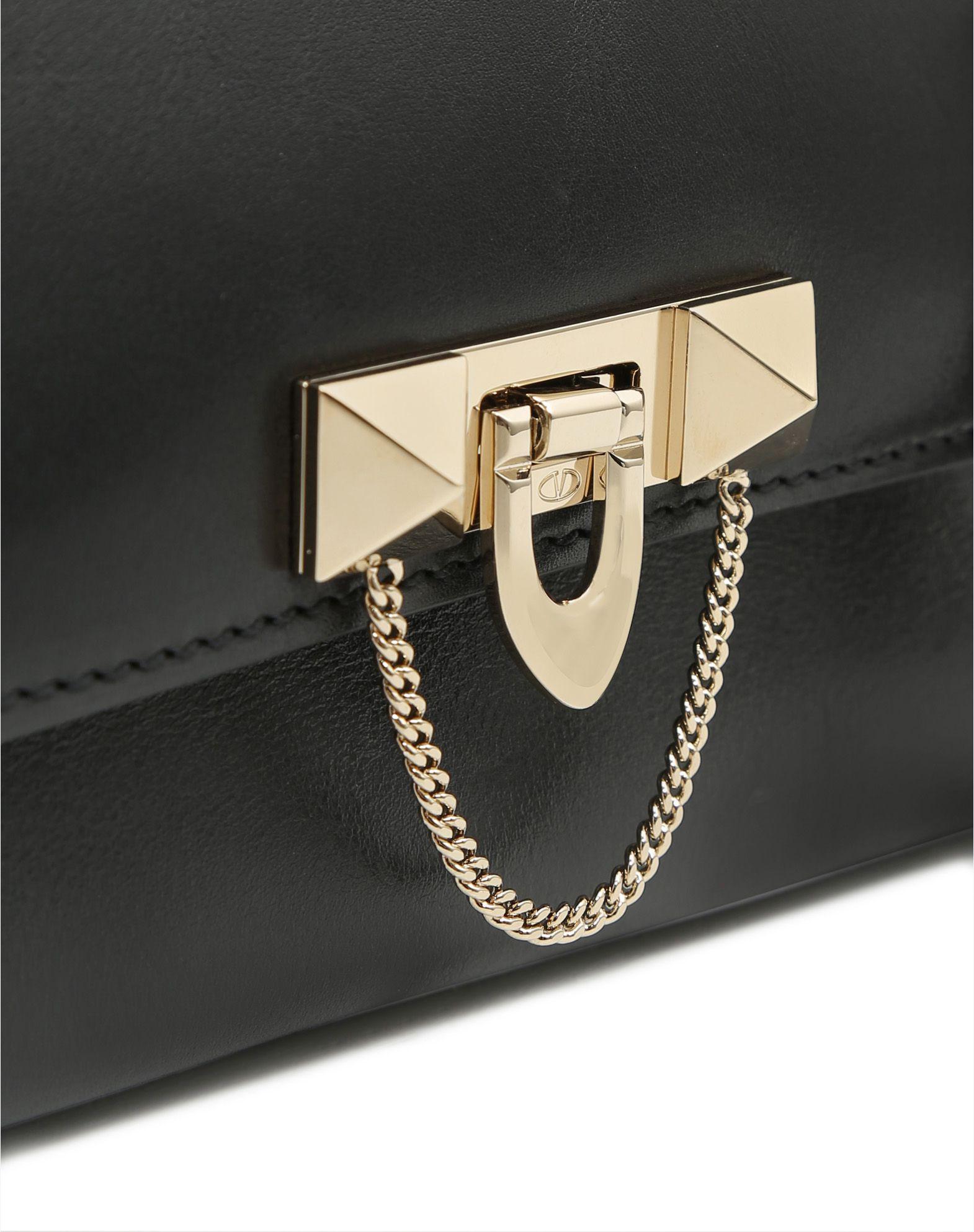 VALENTINO GARAVANI Demilune Double Handle Bag HANDBAG D b
